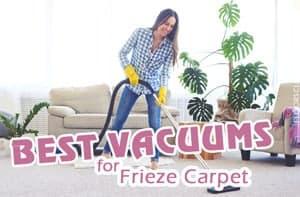 Top 5 Best Vacuums For Frieze Carpet – Definitive Guide