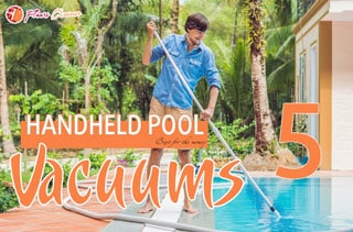 {TOP 5} Best Handheld Pool Vacuums For The Money