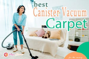 {TOP 5} Best Canister Vacuum for Carpets For The Money