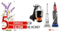[TOP 5] Best Commercial Vacuum For The Money