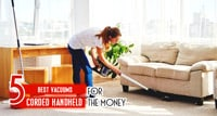 {TOP 5} Best Corded Handheld Vacuum